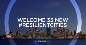 100RC - Announcing 2nd Round of Resilient Cities!