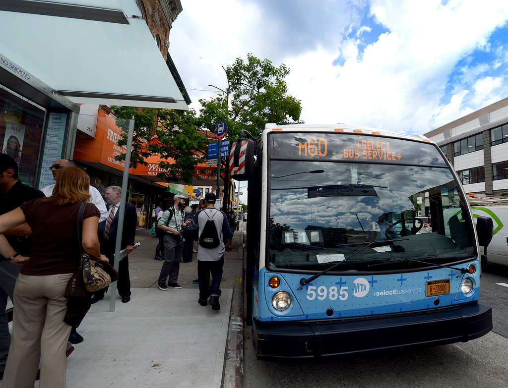 The Rockefeller Foundation announces a $1.2 million grant supporting local efforts to establish Bus Rapid Transit (BRT) systems in New York City, Boston, Chicago, Nashville, and Pittsburgh.