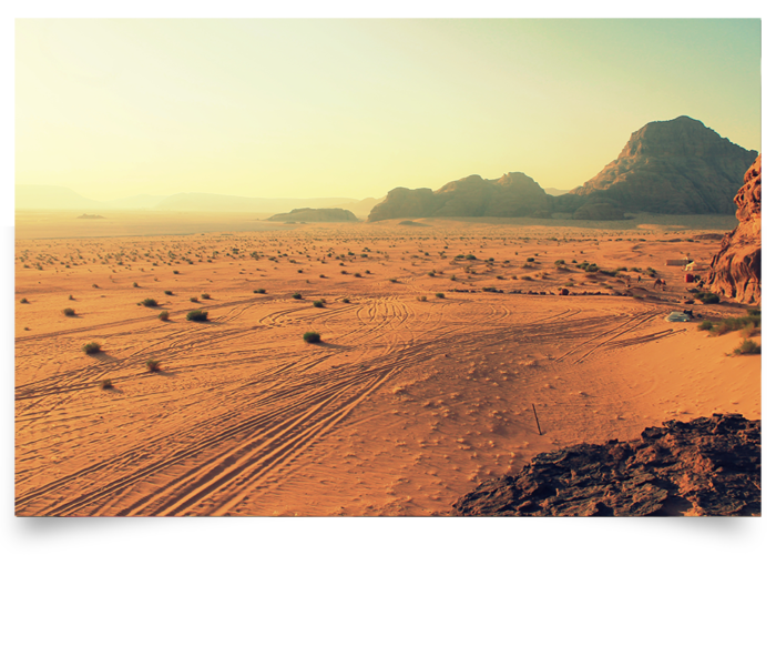 Snapshot of a desert.