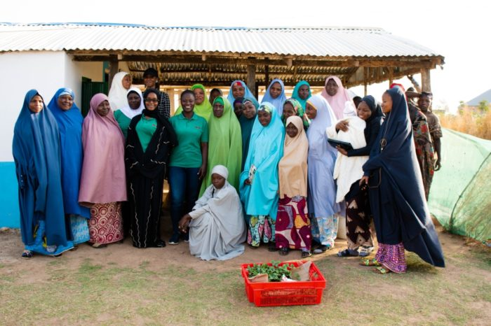 Members of the Farmers' Service Centre at Shika, Kaduna, Nigeria