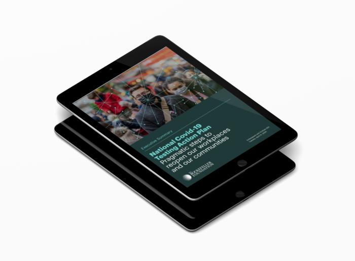 iPad displaying an article.