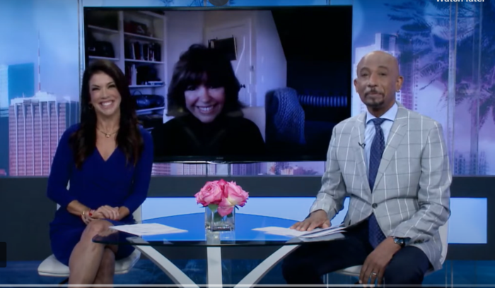 Eileen O'Connor on Lifetime's The Balancing Act with Montel Williams.