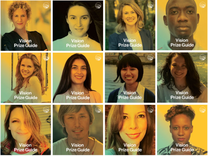 Participants in the Vision Guide Initiative.