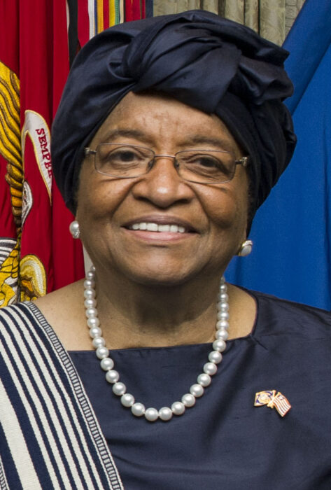 Ellen Johnson Sirleaf headshot