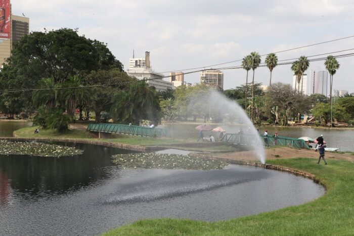 Restoring Nairobi to the place of cool waters. Photo credit- Michelle Mbuthia APHRC