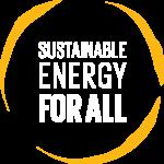 The Rockefeller Foundation Electrifying Economies SEforALL Logo Ochre.png