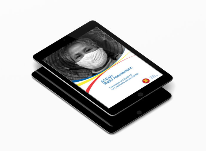 decorative image of report cover in ipad mockup