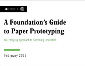 A Foundations Guide to Paper Prototyping