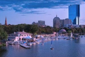 Charles River Esplanada Boston, Massachusetts.