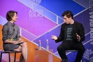 Brian Chesky at the Aspen Ideas Festival