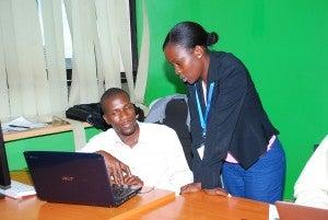 Digital Worker and Supervisor at work.