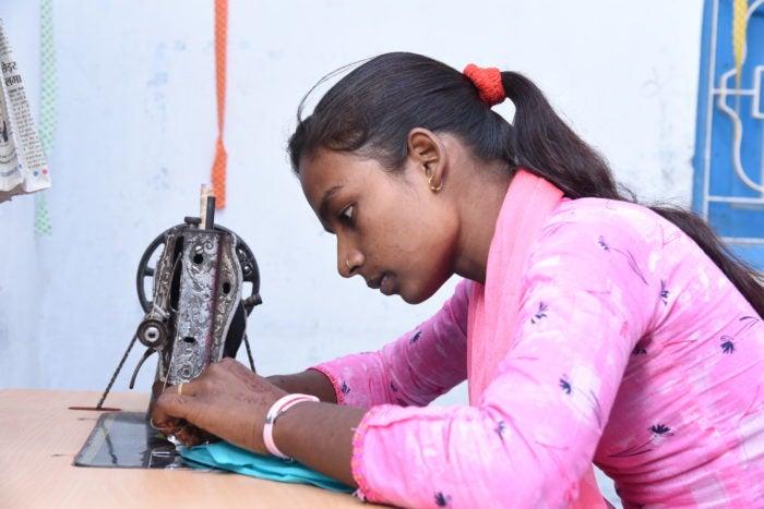 Ruby Kumar's Sewing Center.