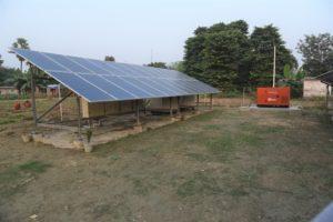 Tara Uja Minigrid Plant, Derni, Bihar