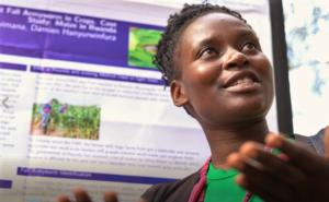 Fauste Ndikumana at the Deep Learning initiative.