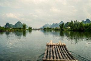 River in Guangxi, China