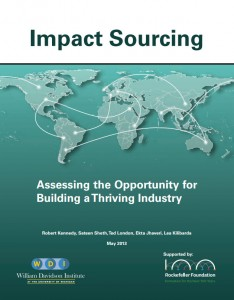 Impact Sourcing - Assessing the Opportunity for Building a Thriving Industry