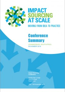 November 2014 Impact Sourcing Conference Summary