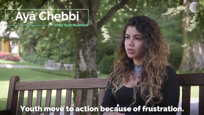 Bellagio Center Youth Resident Aya Chebbi.
