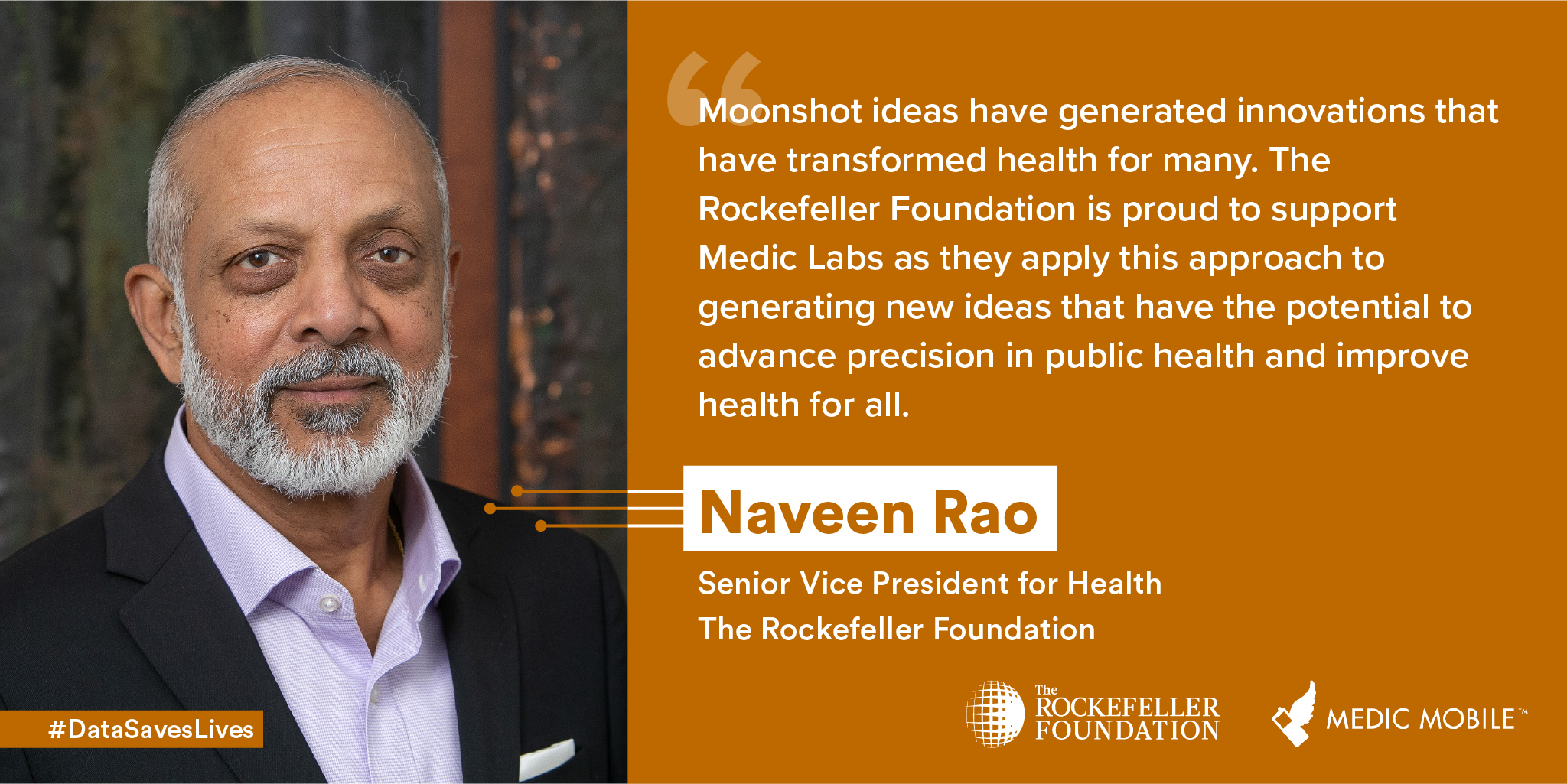 Medic Mobile Launches Medic Labs: A New Tech Accelerator for Global Health with an Initial $3 Million Investment from The Rockefeller Foundation - The Rockefeller Foundation