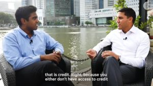 Raj Shah In Conversation With Mohamed Abbas.