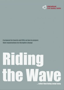 Riding the Wave... rather than being swept away
