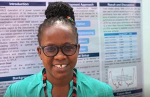 Rukia Mwifunyi at the Deep Learning initiative.
