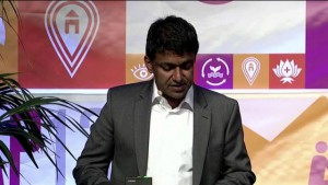 Zia Khan speaking at the SOCAP 2013 conference