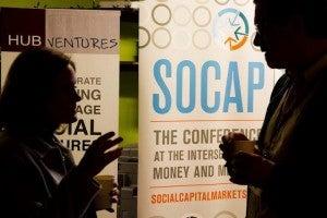 SOCAP Mixing - Wharton Social Impact