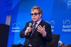 Sir Elton John Receives Rockefeller Foundation Lifetime Achievement Award