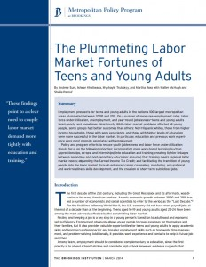 The Plummeting Labor Market Fortunes for Teens and Young Adults Cover