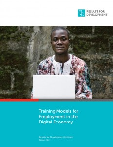 Training Models for Employment in the Digital Economy