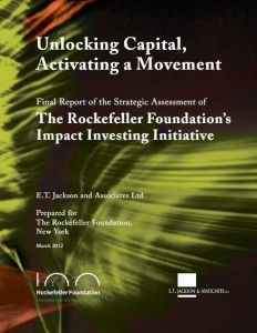 Unlocking Capital, Activating a Movement