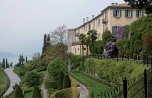 Exterior view of the Bellagio Center Villa.