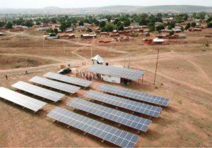 Mini grids in local communities.